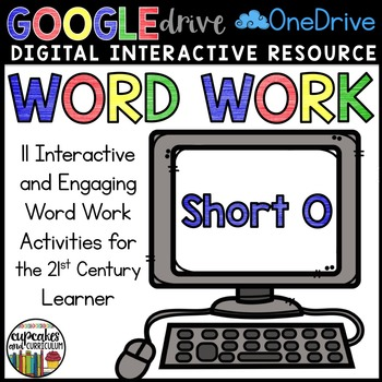Digital Interactive Word Work: Short O