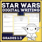 Digital Interactive Writing Templates *Star Wars Theme* GO