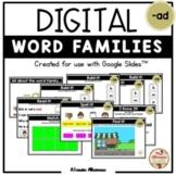 "Digital Interactive - ""ad""- Word Family Activities (Google"