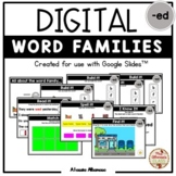 "Digital Interactive - ""ed""- Word Family Activities (Google"