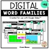 "Digital Interactive - ""eg""- Word Family Activities (Google"