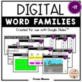 """Digital Interactive - """"it""""- Word Family Activities (Google"""