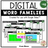 "Digital Interactive - ""og""- Word Family Activities (Google"