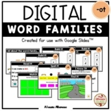 "Digital Interactive - ""ot""- Word Family Activities (Google"