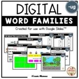 "Digital Interactive - ""ug""- Word Family Activities (Google"