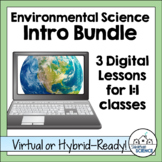 Digital Intro to Environmental Science Bundle [Distance Learning]