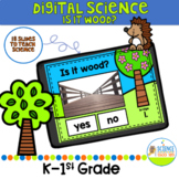 Digital Is It Wood? FOSS Inspired Science Review