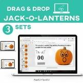 Digital Jack-O-Lantern Activity Set