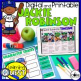 Jackie Robinson Activities   Civil Rights Movement Unit   Print & Digital