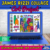 Digital James Rizzi Cityscape Art Project & Artist Biograp