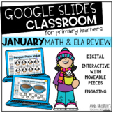Digital January Math and ELA Review