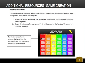 Digital Jeopardy Template: Just Edit to Create Your Own Jeopardy Game