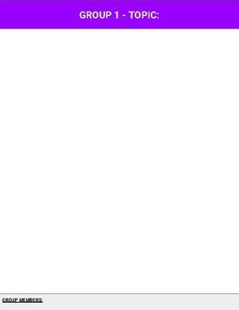 Digital JigSaw Template (Google Slides)