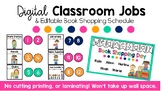 Digital Job Chart and Book Shopping Day PowerPoint