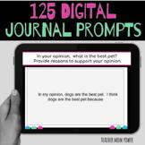 Digital Journal Prompts, Work on Writing, Creative Writing
