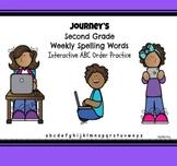 Digital Journeys Weekly Spelling Words ABC Order