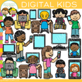 Digital Kids Clip Art