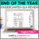 Digital Kindergarten ELA and Reading Review for Seesaw™