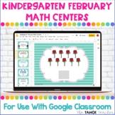 Digital Kindergarten February Math Centers for Use With Go
