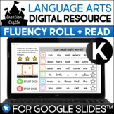 Digital Kindergarten Fluency for Google Slides™ | Roll and Read