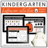 Digital Kindergarten Halloween Activities (Google Slides™)