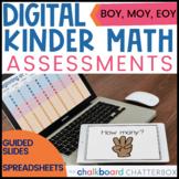 Digital Kindergarten Math Assessments