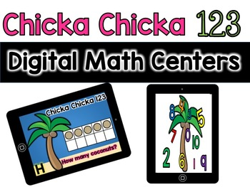 Digital Kindergarten Math Centers: Chicka Chicka 123 (google classroom)
