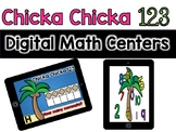 Digital Centers Chicka Chicka 123 for Google Classroom /One Drive (Kindergarten)