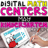 Digital Kindergarten Math Centers for MAY