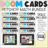 Digital Kindergarten Math Mat PET BUNDLE BOOM Cards™ (Distance Learning)