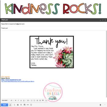 Digital Kindness Cards : Succulents