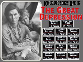Great Depression Digital Knowledge Bank