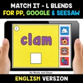 Digital L Blends Word Work for Google and Seesaw 2 - Dista