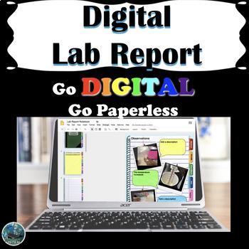 Digital Lab Report Notebook