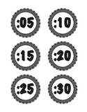 Digital Labels for Analog Clock