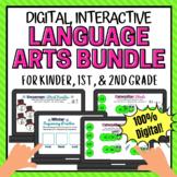 Digital Language Arts Activities Phonics and Sequencing BU