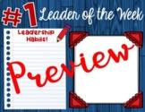 Digital Leader of the Week Certificate Template - Google Slides