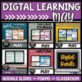 Digital Learning Bundle | MAY | Distance Learning | Google
