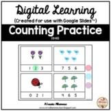 Digital Learning - COUNTING for Distance Learning {Google