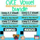 Digital Learning CVCE Vowel Write Bundle
