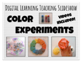 Digital Learning Color Experiments Elementary Art Lesson S