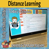 Digital Learning Daily Schedule Google Slides