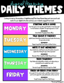 Digital Learning Daily Themes