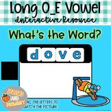 Digital Learning Long O_E Vowel Write