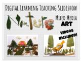 Digital Learning Nature Mixed Media Art Elementary Lesson