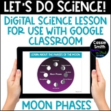 Digital Distance Learning Science Lesson: Moon Phases