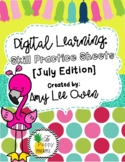 Digital Learning: Skill Practice Sheets [July Edition]