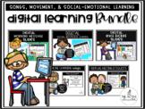 Digital Learning Slides Bundle | Distance Learning