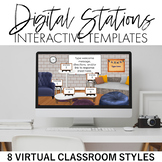 Digital Learning Stations Interactive Templates
