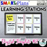 Digital Learning Stations Template #2